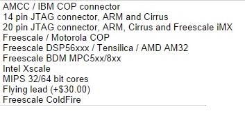 Macraigor JTAG emulators for ARM / PPC / MIPS / ATOM | sightsys
